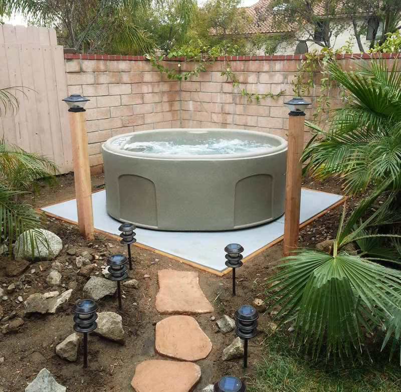 Ez Pad 174 Hot Tub Spa Base Photos Pics And Testimonials